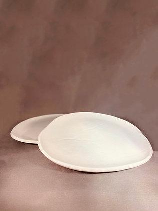 Witte borden - set van 2