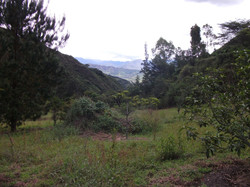 VILCABAMBA VALLEY IN THE BACK