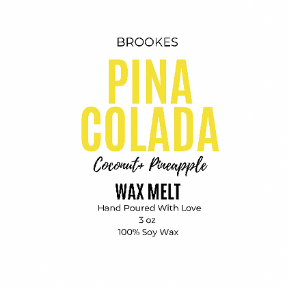 PINA COLADA WAX MELT