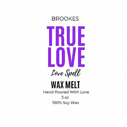 TRUE LOVE WAX MELT