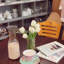 Rose Tea Latte