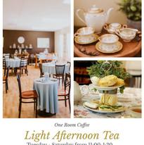 Light Afternoon Tea