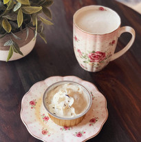 Tea Latte & Earl Grey Cheesecake