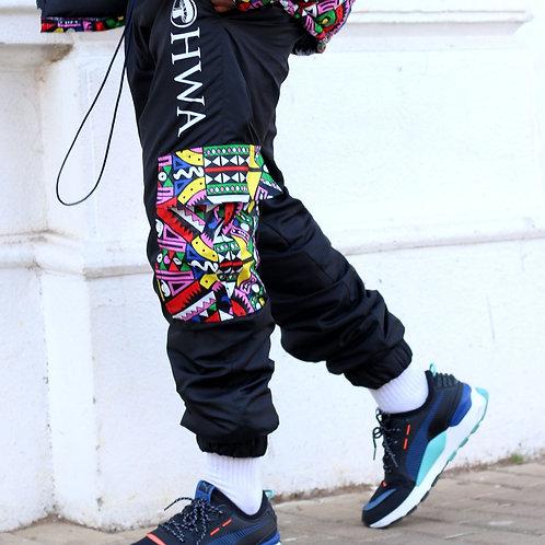 Mens Black Trackpants