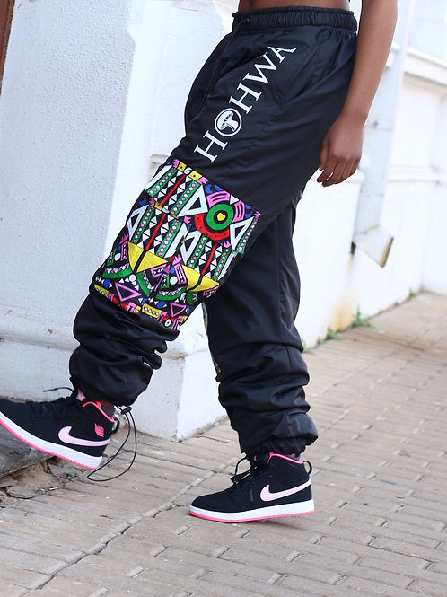 Women's Black Trackpants