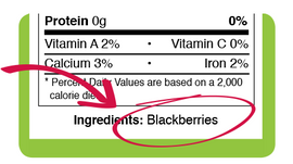 Ingredients Labels Difficult? Not At All!