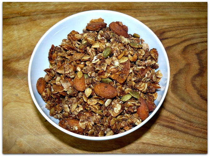 Recipe for Muesli Mix
