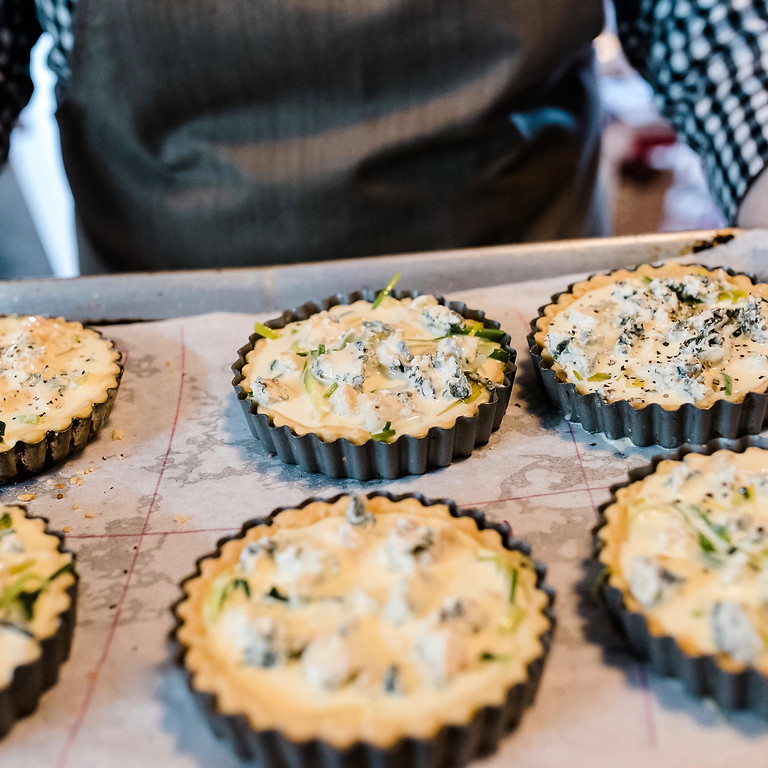 pies, pastries + tarts cooking class
