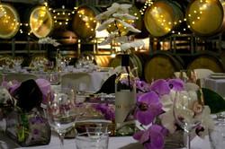 Singapore orchid centrepieces
