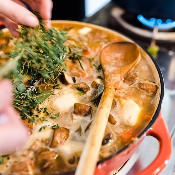 Winter Warmers Cooking Class