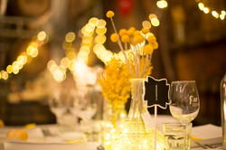 Gorgeous golden spring wedding
