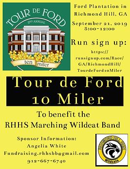 Tour de Ford Band Flyer