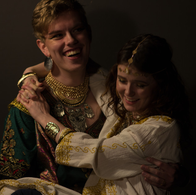 Esther and Xerxes laughing.jpg