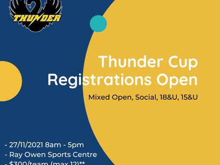 Thunder Cup Returns!