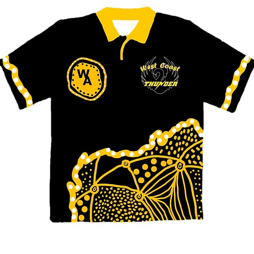WA Supporter Polo (Indigenous Design)