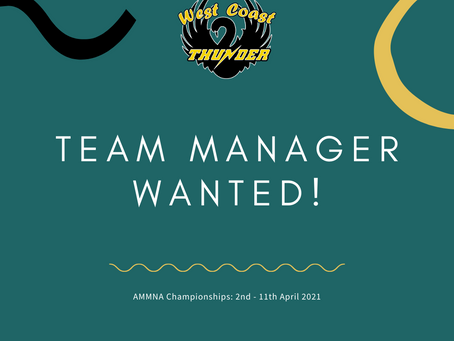 17&U Manager Wanted!