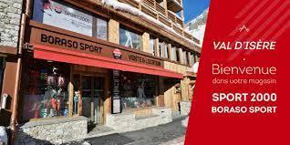 """Le magasin """"Sport 2000 Boraso"""" à Val d'Isère propose 5 à 10 % de réduction sur la boutique ..."""