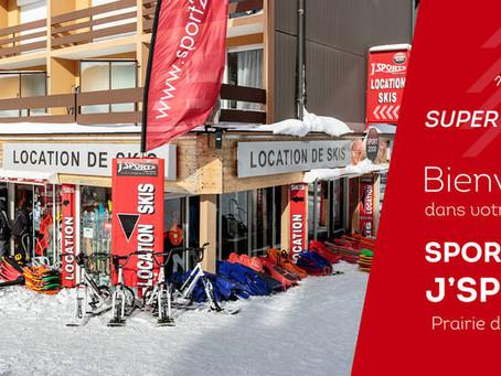 """Les 2 magasins """"J'Sport Sport 2000"""" de la station de ski du Lioran dans le Cantal ..."""