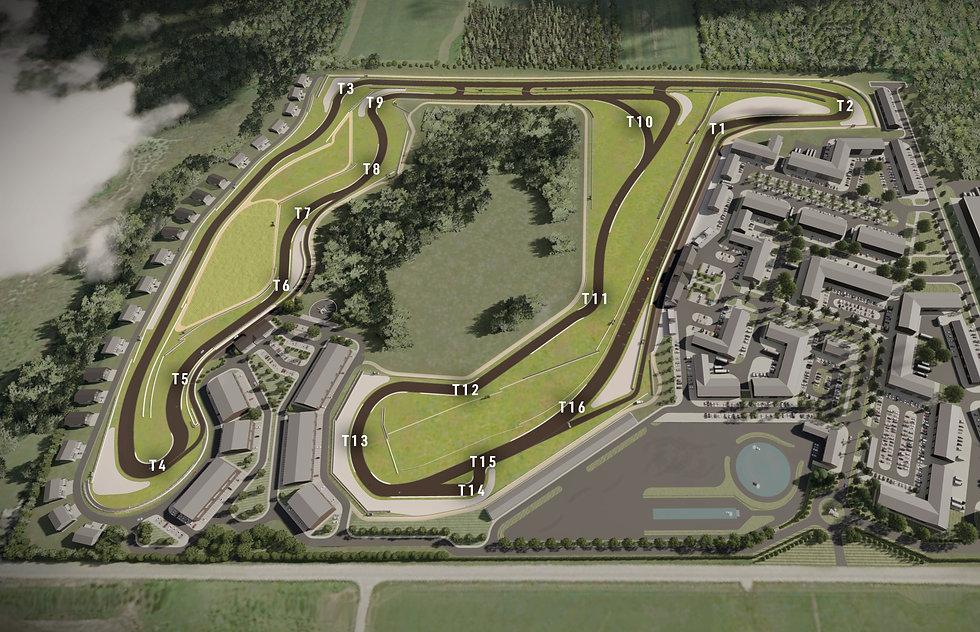 Bexley Motor Club Brochure - Track Map.j