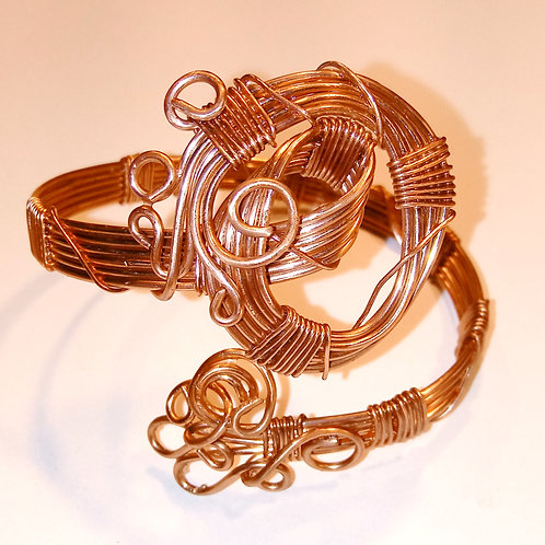 Bright Copper Bracelet