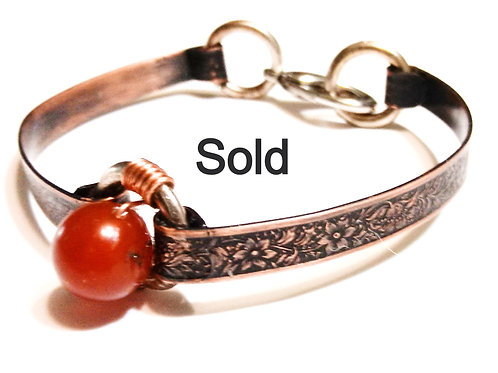 Single Carnelian Bracelet