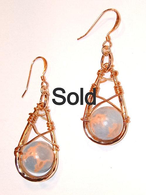 Wire Wrapped Earrings