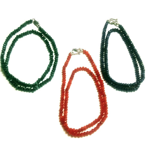 Boho Gemstone Necklace