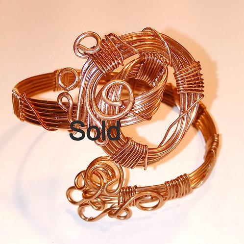 Bright Copper Bracelet