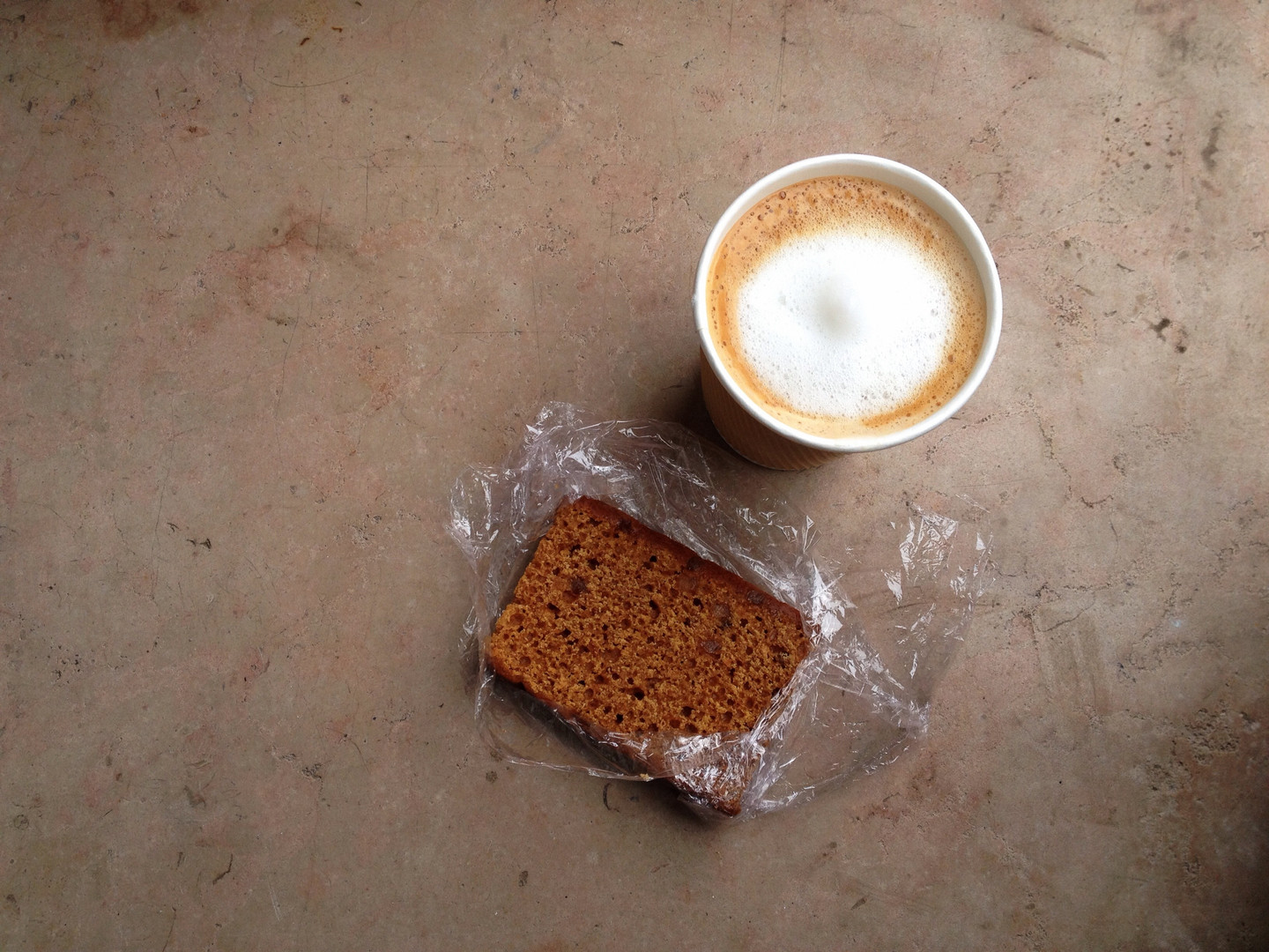 Honey Cake, Coffee