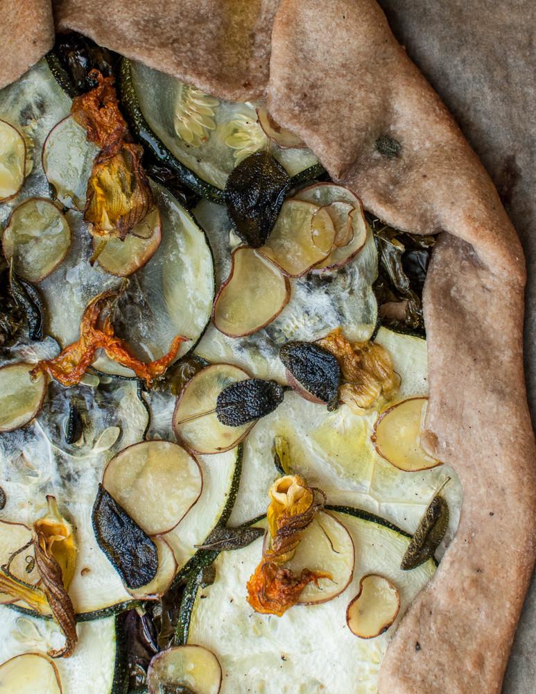 Summer Tart, Olive Oil Crust
