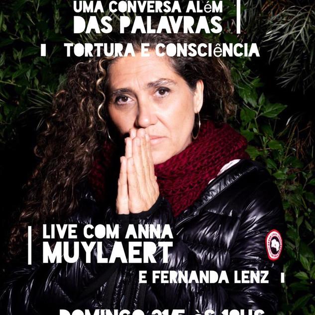 Words Alive - Uma Conversa Além das Palavras: COnsciência e Tortura  Com Anna Muylaert