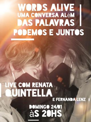 Uma Conversa Além das Palavras: Podemos e Juntos com Renata Quintella