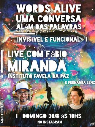 Uma Conversa Além das Palavras: Invisível e Funcional com Fabio Miranda