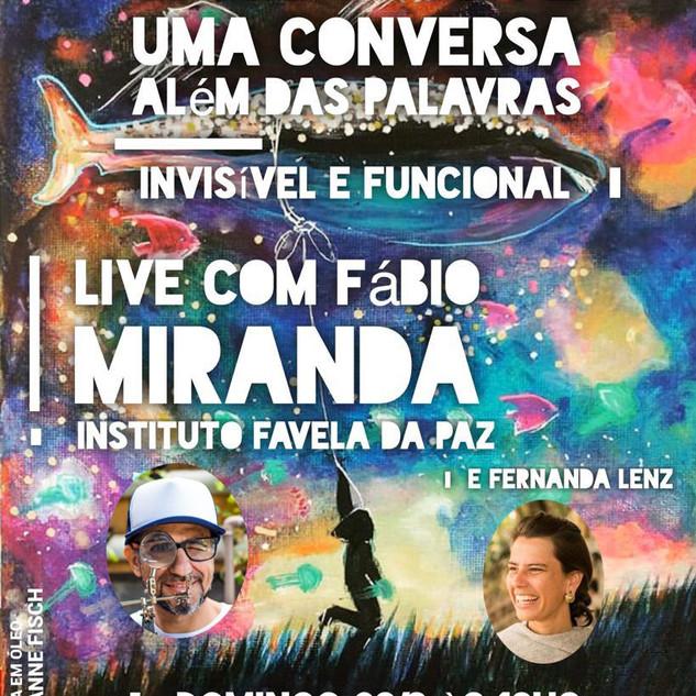 Words Alive - Uma Conversa Além das Palavras: Invisível e Funcional com Fabio Miranda