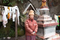 Guardiã de Um Lugar Sagrado, Daman, Nepal, 2020