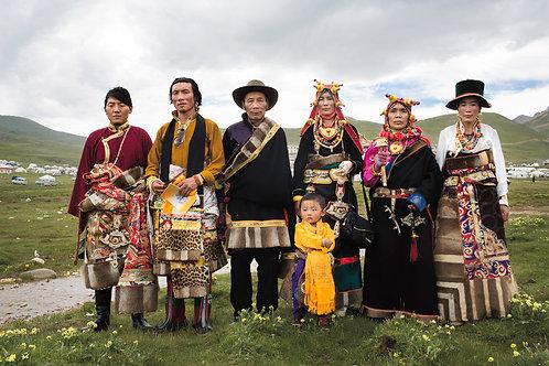 Familia de Tibetanos