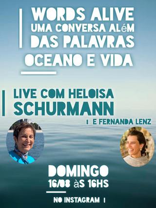 Uma Conversa Além das Palavras: Oceano e Vida com Heloisa Schurmann