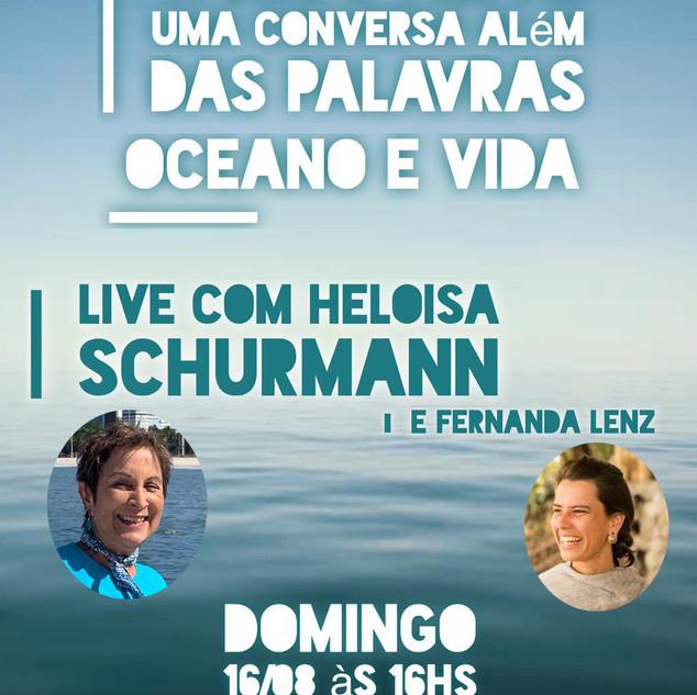Words Alive - Uma Conversa Além das Palavras: Oceano e Vida Com Heloisa Schurmann