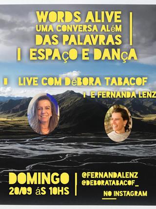 Uma Conversa Além das Palavras: Espaço e Dança com Débora Tabacoff
