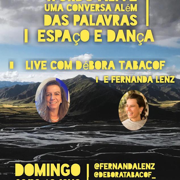 Words Alive - Uma Conversa Além das Palavras: Espaço e Dança com Débora Tabacoff