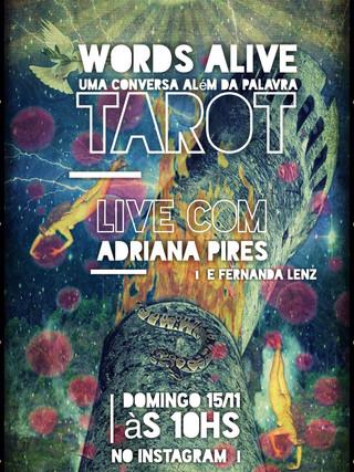 Uma Conversa Além das Palavras: Tarot com Adriana Pires