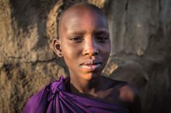 Guerreira Maasai