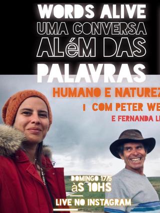 Uma Conversa Além das Palavras: Humano e Natureza com Peter Webb