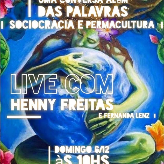 Uma Conversa Além das Palavras: Sociocracia e Permacultura com Henny Freitas