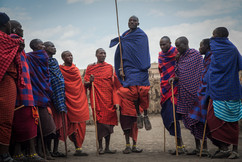 Pulo Maasai. Cratera Ngorongoro, Tanzânia 2015.