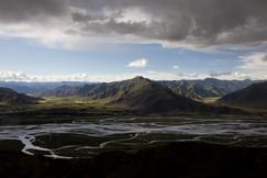 Montanhas de Ganden, Tibet 2017