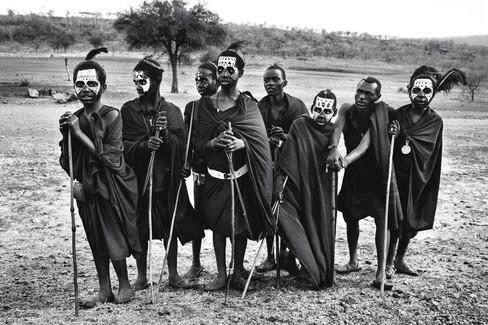 Rito de Passagem Maasai. Maasai Mara, Tanzânia 2015.