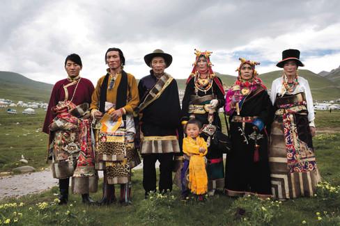 Família de Tibetanos