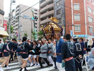 下町の祭礼文化 御神輿本番!