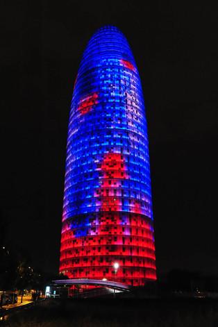 Agbar tower - Barcelona (Spain)